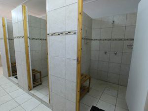 namastat lodge communal bathrooms