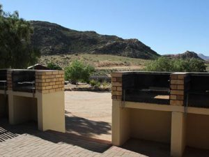 namastat lodge braai area
