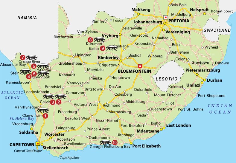 Country hotels maps of locations