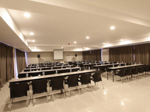 Image of a conference room at the hotel to indicate that conferences are available